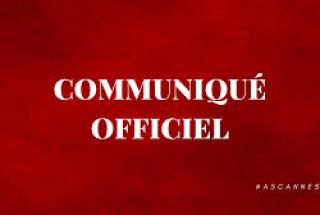 COMMUNIQUÉ CALENDRIER