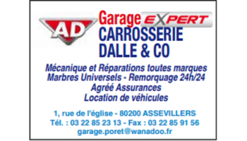 AD GARAGE EXERT - ASSEVILLERS
