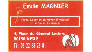 EMILIE MAGNIER - VENTE , LOCATION DE MATÉRIEL MÉDICAL ET LIVRAISON