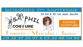 SA'PHIL COIFFURE - ROSIERES-EN-SANTERRE